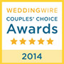 2014 Wedding Wire Couple's Choice Awards